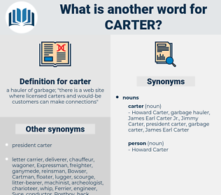 carter, synonym carter, another word for carter, words like carter, thesaurus carter