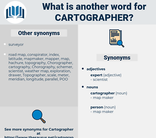 Synonyms for CARTOGRAPHER - Thesaurus net