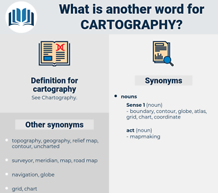 cartography, synonym cartography, another word for cartography, words like cartography, thesaurus cartography
