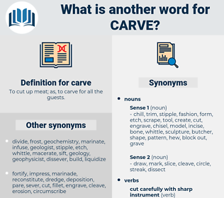 carve, synonym carve, another word for carve, words like carve, thesaurus carve