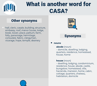 Casa, synonym Casa, another word for Casa, words like Casa, thesaurus Casa