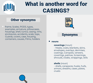 Casings, synonym Casings, another word for Casings, words like Casings, thesaurus Casings