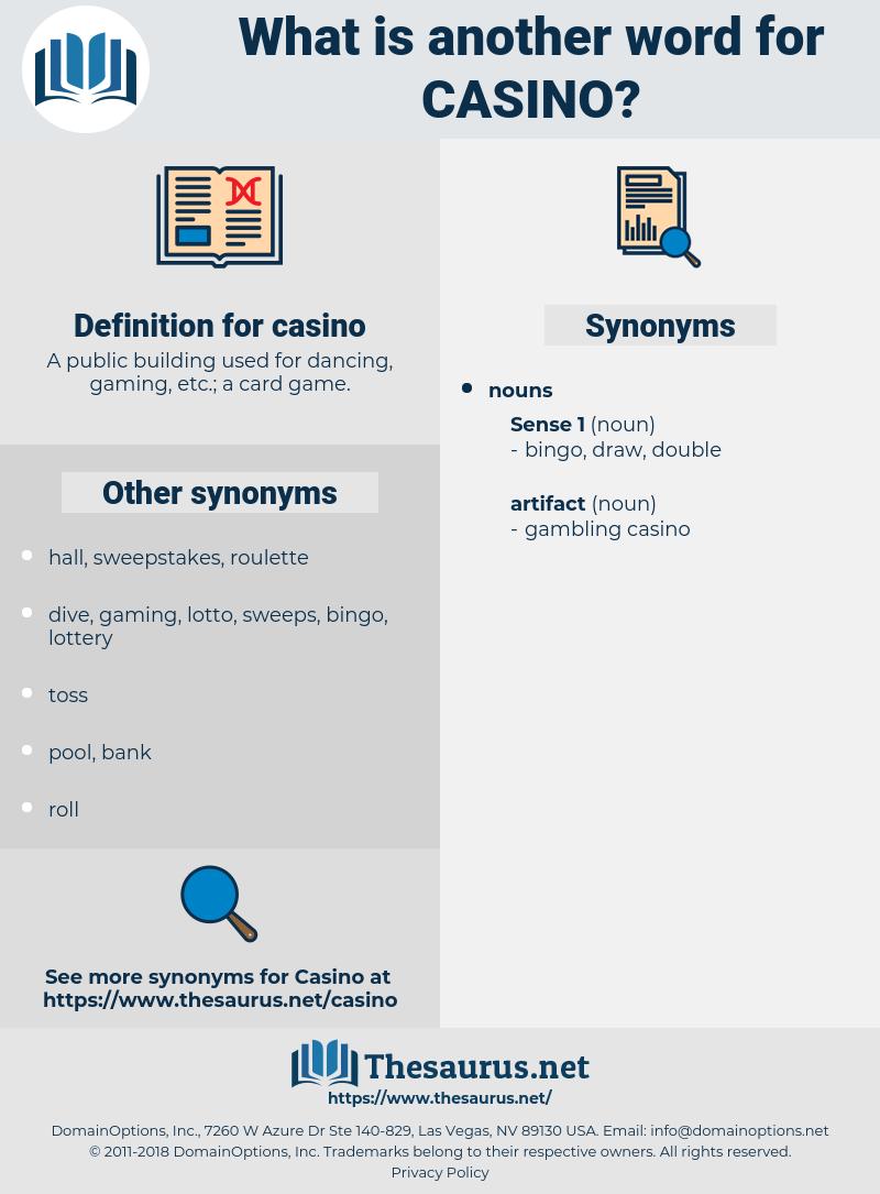 casino, synonym casino, another word for casino, words like casino, thesaurus casino