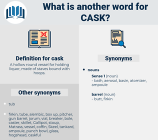 cask, synonym cask, another word for cask, words like cask, thesaurus cask