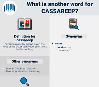 cassareep, synonym cassareep, another word for cassareep, words like cassareep, thesaurus cassareep