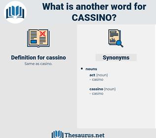 cassino, synonym cassino, another word for cassino, words like cassino, thesaurus cassino