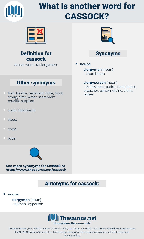 cassock, synonym cassock, another word for cassock, words like cassock, thesaurus cassock