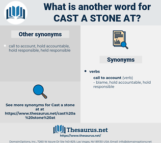cast a stone at, synonym cast a stone at, another word for cast a stone at, words like cast a stone at, thesaurus cast a stone at