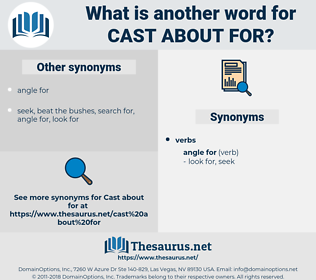 cast about for, synonym cast about for, another word for cast about for, words like cast about for, thesaurus cast about for