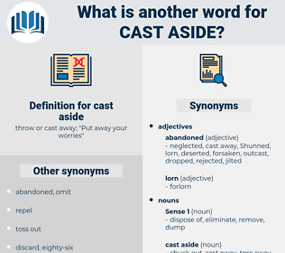 cast aside, synonym cast aside, another word for cast aside, words like cast aside, thesaurus cast aside