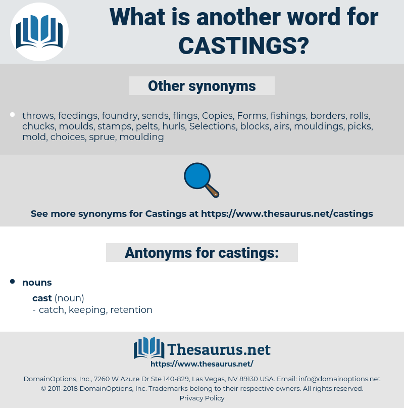 castings, synonym castings, another word for castings, words like castings, thesaurus castings