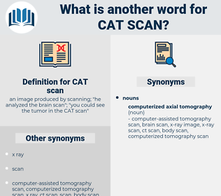 CAT scan, synonym CAT scan, another word for CAT scan, words like CAT scan, thesaurus CAT scan
