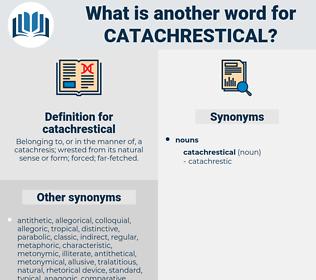 catachrestical, synonym catachrestical, another word for catachrestical, words like catachrestical, thesaurus catachrestical