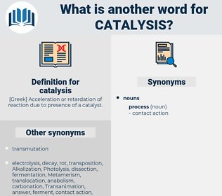 catalysis, synonym catalysis, another word for catalysis, words like catalysis, thesaurus catalysis