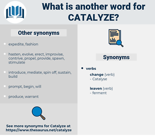 catalyze, synonym catalyze, another word for catalyze, words like catalyze, thesaurus catalyze