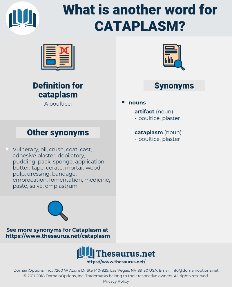 cataplasm, synonym cataplasm, another word for cataplasm, words like cataplasm, thesaurus cataplasm