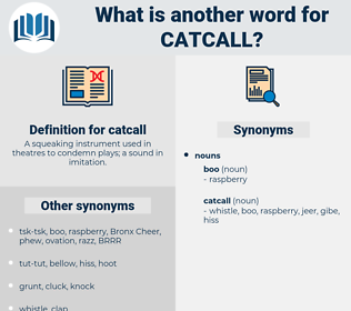 catcall, synonym catcall, another word for catcall, words like catcall, thesaurus catcall