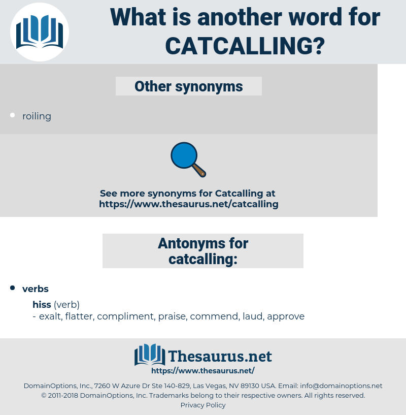 catcalling, synonym catcalling, another word for catcalling, words like catcalling, thesaurus catcalling