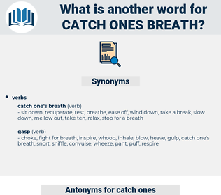 catch ones breath, synonym catch ones breath, another word for catch ones breath, words like catch ones breath, thesaurus catch ones breath