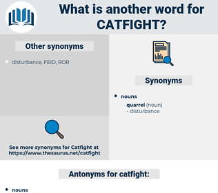 catfight, synonym catfight, another word for catfight, words like catfight, thesaurus catfight
