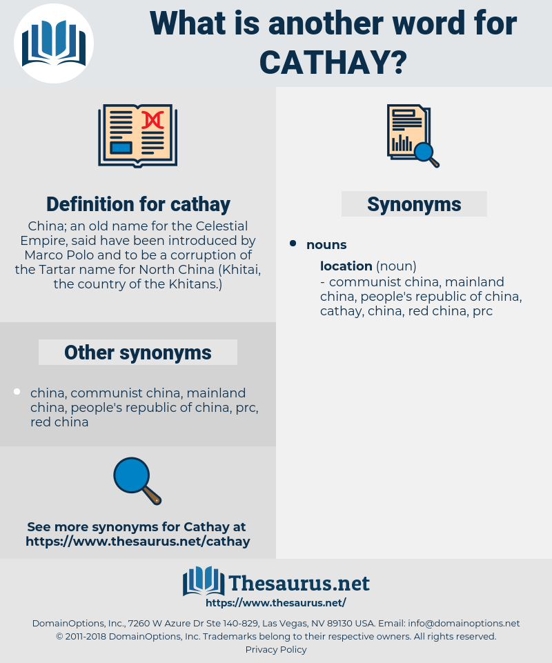 cathay, synonym cathay, another word for cathay, words like cathay, thesaurus cathay