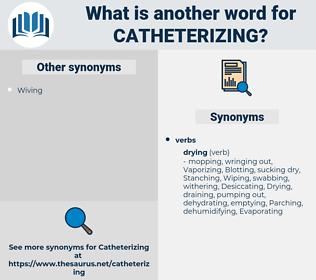 Catheterizing, synonym Catheterizing, another word for Catheterizing, words like Catheterizing, thesaurus Catheterizing