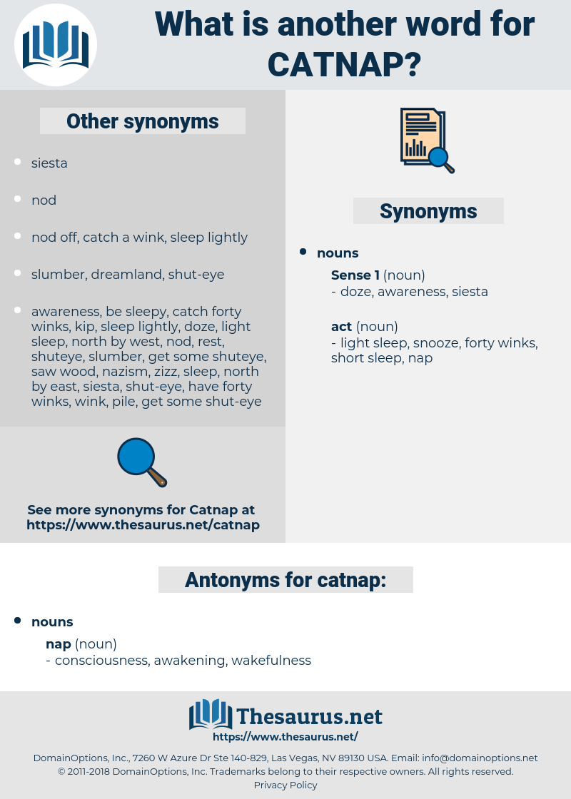 catnap, synonym catnap, another word for catnap, words like catnap, thesaurus catnap