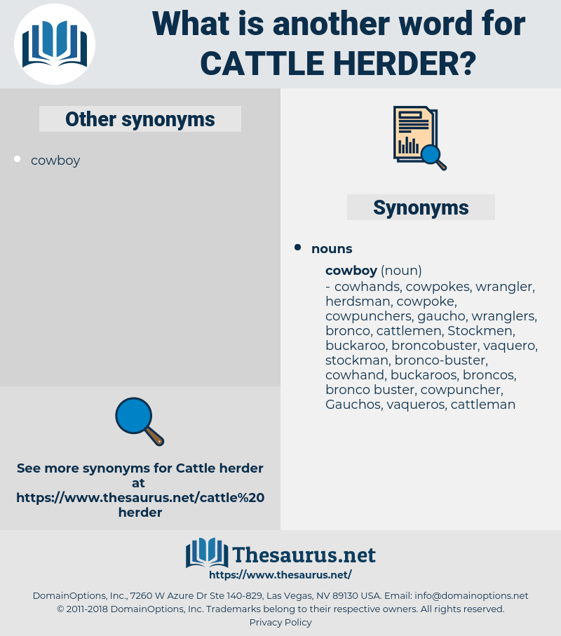 cattle herder, synonym cattle herder, another word for cattle herder, words like cattle herder, thesaurus cattle herder