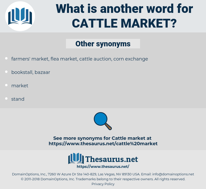 cattle market, synonym cattle market, another word for cattle market, words like cattle market, thesaurus cattle market