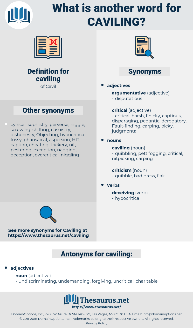 caviling, synonym caviling, another word for caviling, words like caviling, thesaurus caviling