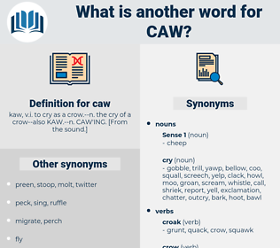 caw, synonym caw, another word for caw, words like caw, thesaurus caw