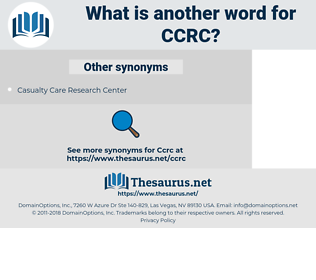 CCRC, synonym CCRC, another word for CCRC, words like CCRC, thesaurus CCRC