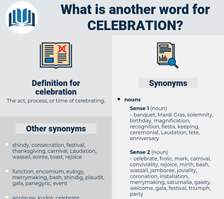 celebration, synonym celebration, another word for celebration, words like celebration, thesaurus celebration