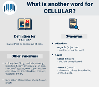 cellular, synonym cellular, another word for cellular, words like cellular, thesaurus cellular