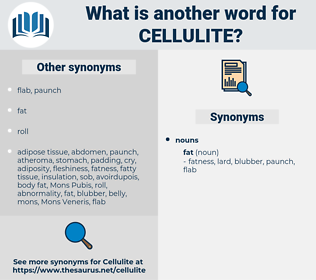 cellulite, synonym cellulite, another word for cellulite, words like cellulite, thesaurus cellulite