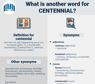 centennial, synonym centennial, another word for centennial, words like centennial, thesaurus centennial