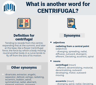 centrifugal, synonym centrifugal, another word for centrifugal, words like centrifugal, thesaurus centrifugal