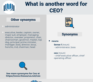 ceo, synonym ceo, another word for ceo, words like ceo, thesaurus ceo