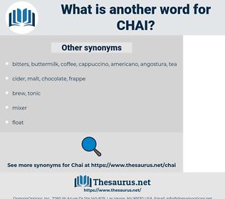 Chai, synonym Chai, another word for Chai, words like Chai, thesaurus Chai