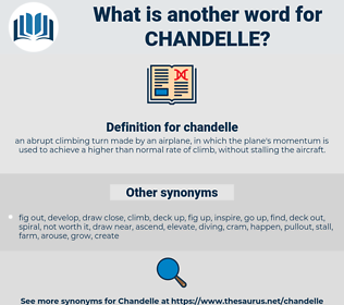 chandelle, synonym chandelle, another word for chandelle, words like chandelle, thesaurus chandelle
