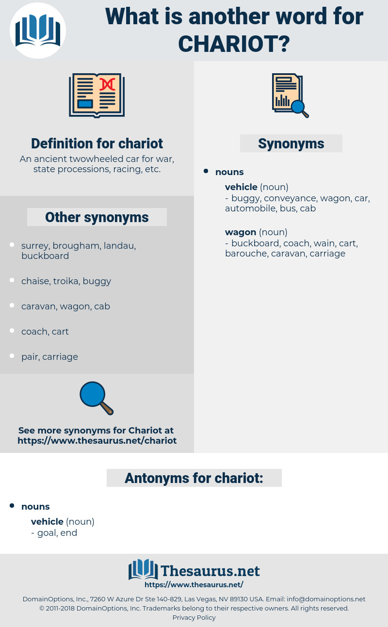 chariot, synonym chariot, another word for chariot, words like chariot, thesaurus chariot