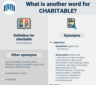 charitable, synonym charitable, another word for charitable, words like charitable, thesaurus charitable