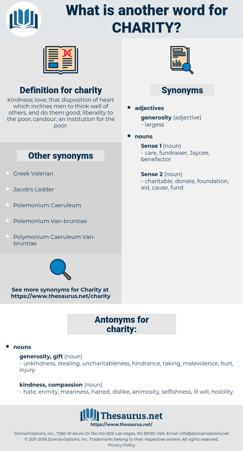 charity, synonym charity, another word for charity, words like charity, thesaurus charity
