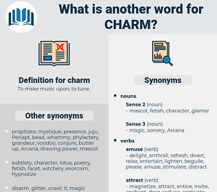 charm, synonym charm, another word for charm, words like charm, thesaurus charm