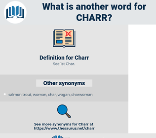 Charr, synonym Charr, another word for Charr, words like Charr, thesaurus Charr
