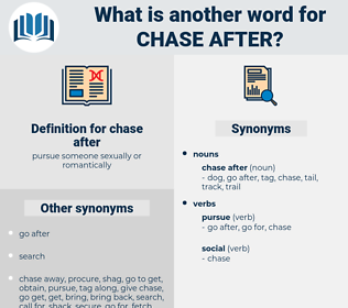 chase after, synonym chase after, another word for chase after, words like chase after, thesaurus chase after