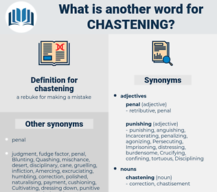chastening, synonym chastening, another word for chastening, words like chastening, thesaurus chastening