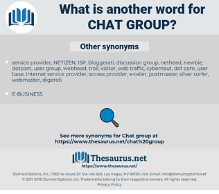 chat group, synonym chat group, another word for chat group, words like chat group, thesaurus chat group