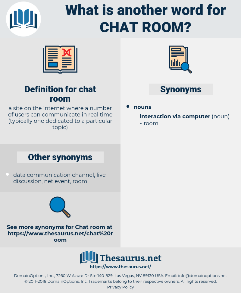 chat room, synonym chat room, another word for chat room, words like chat room, thesaurus chat room