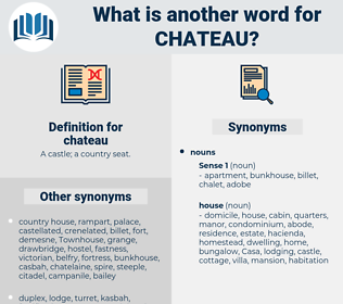 chateau, synonym chateau, another word for chateau, words like chateau, thesaurus chateau